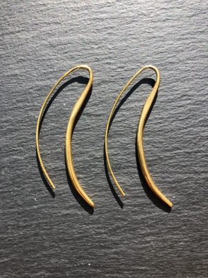 'Epona' tribal fülbevaló  14k aranyozott réz